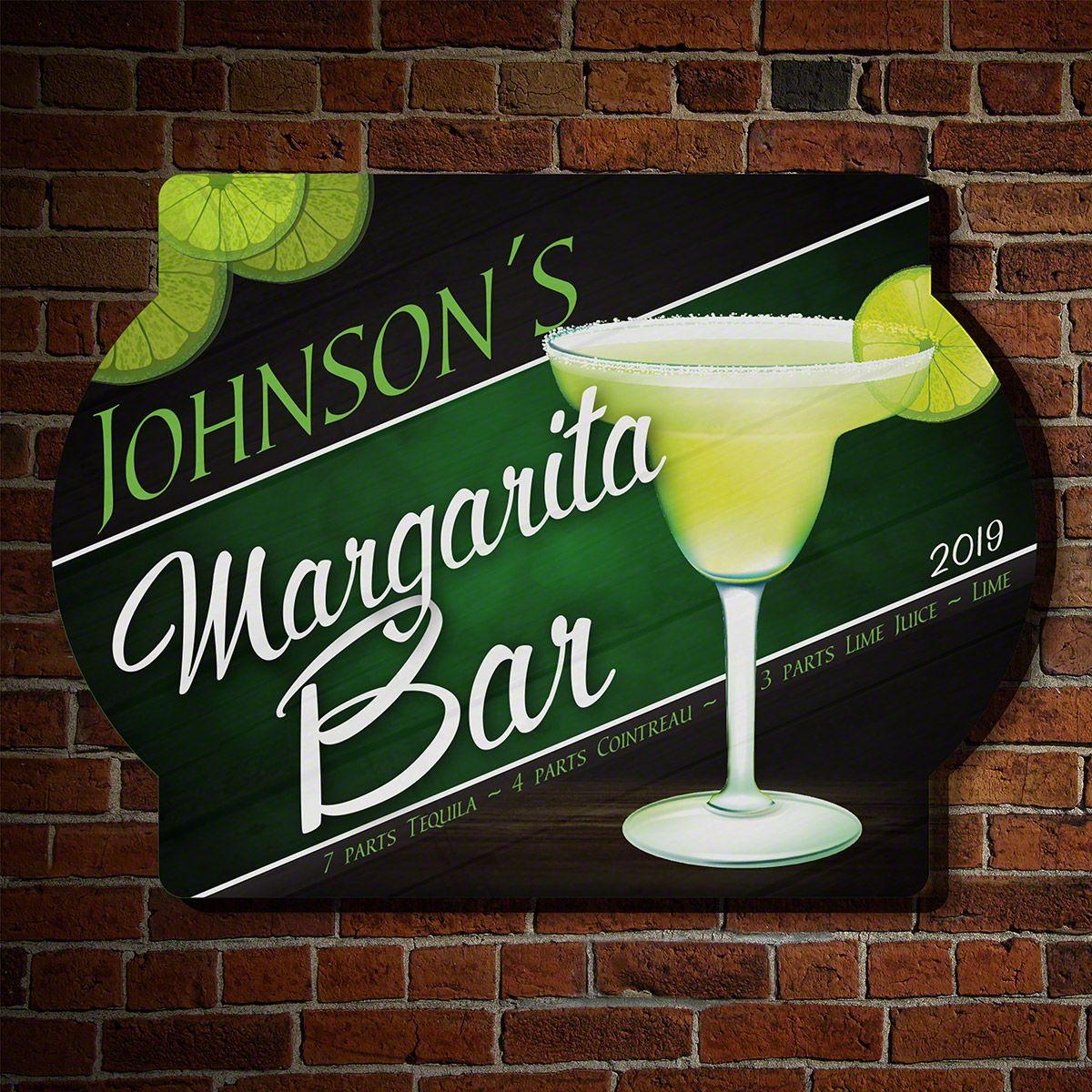 Margarita Bar Personalized Sign