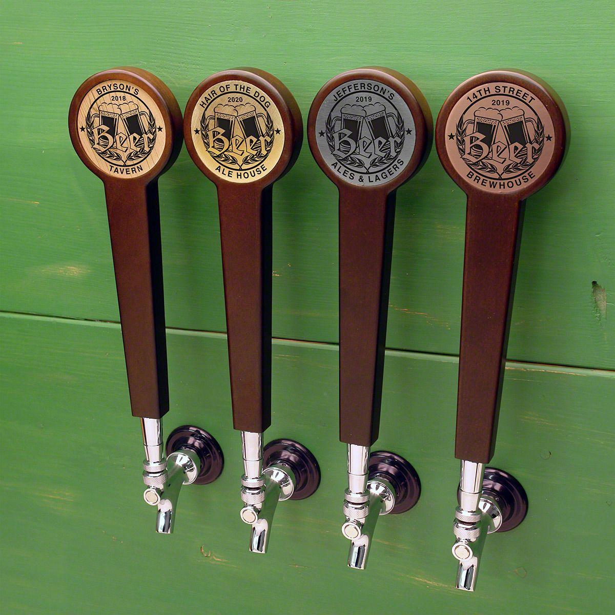 Bierhaus Custom Beer Tap Handle, 4 Color Options