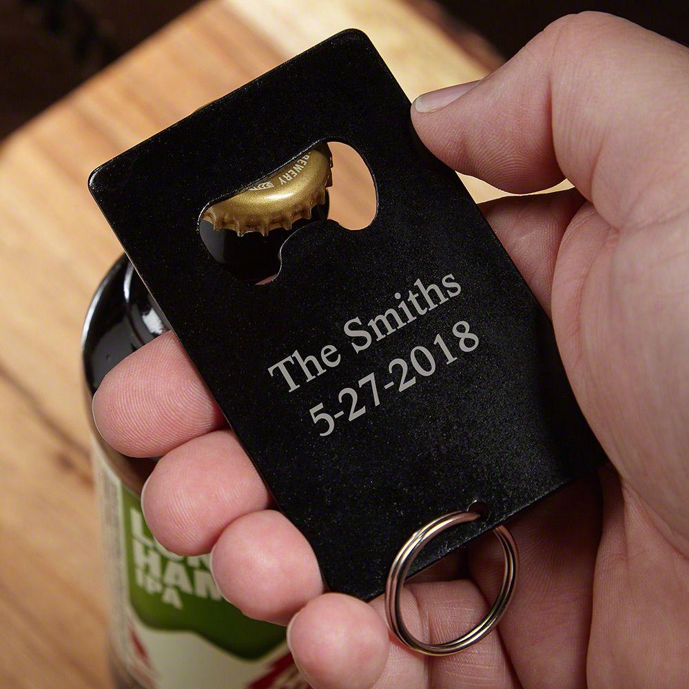 Hopvine Personalized Bottle Opener