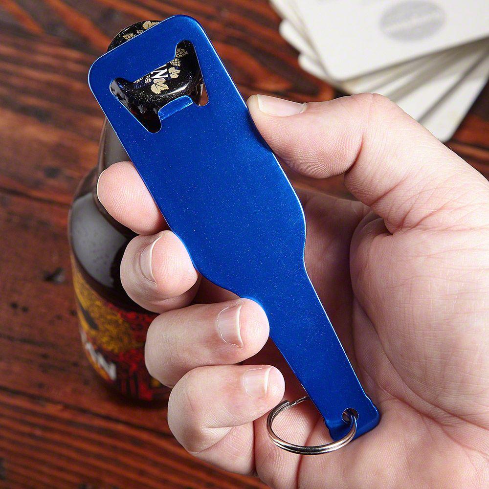 Emerson Royal Blue Keychain Bottle Opener