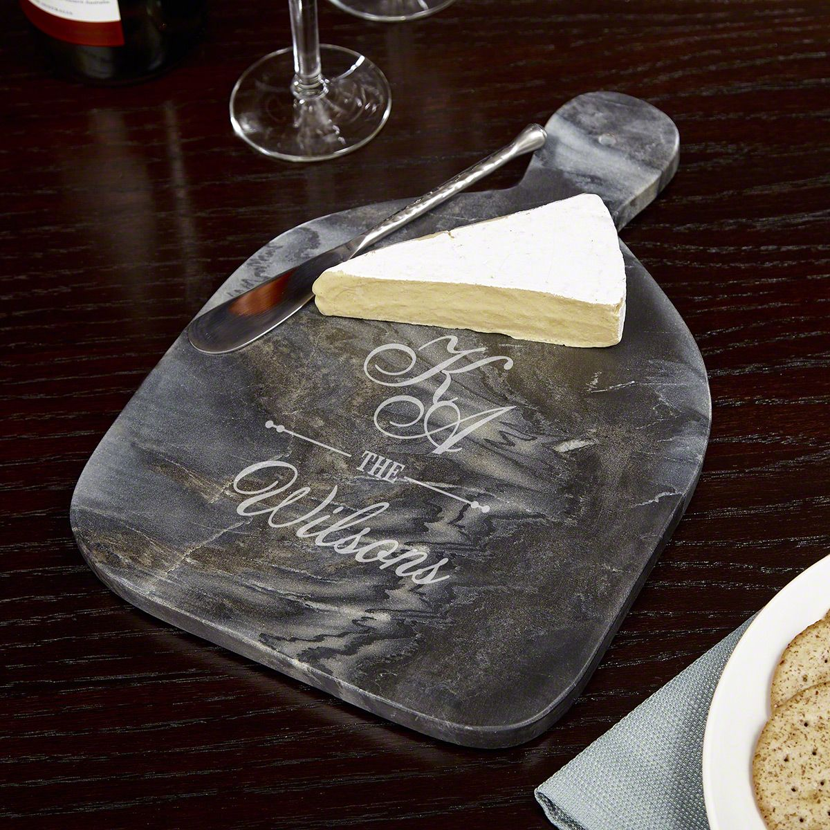 Sheridan Personalized Marble Cheese Board