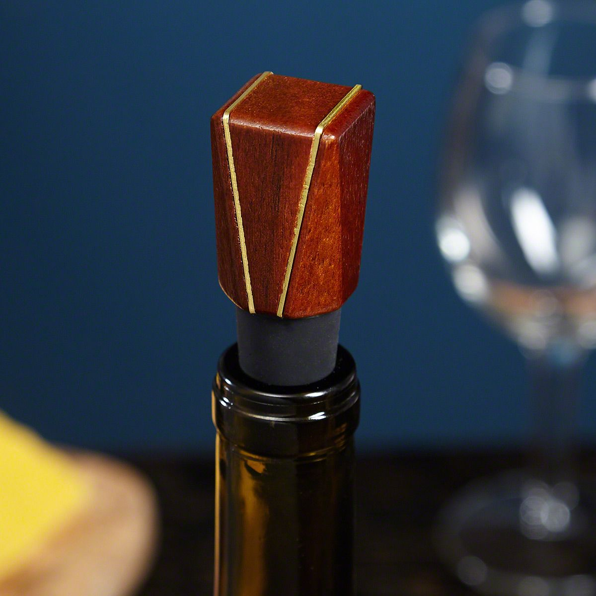 Goldsmith Acacia Wood Wine Stopper