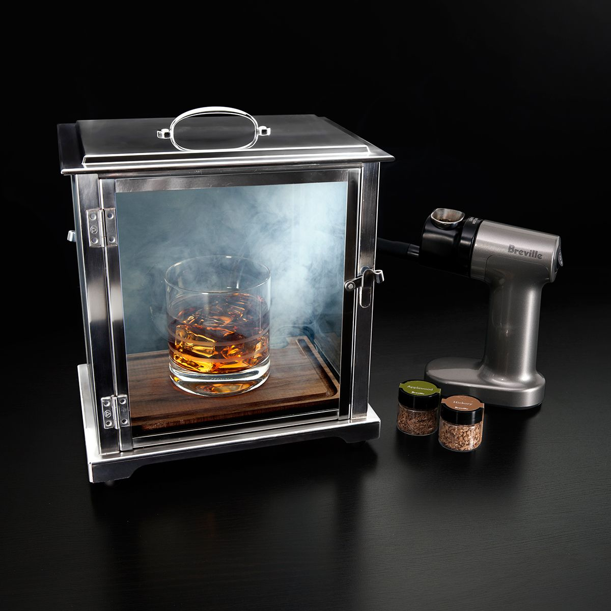 The Smoke Box Deluxe Drink Smoker System