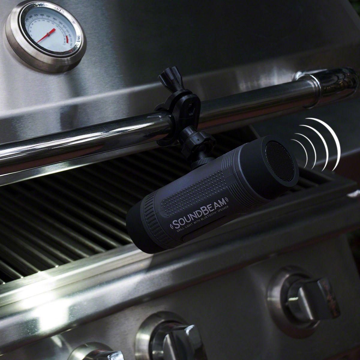 SoundBeam Outdoor BBQ Light with Bluetooth Speaker