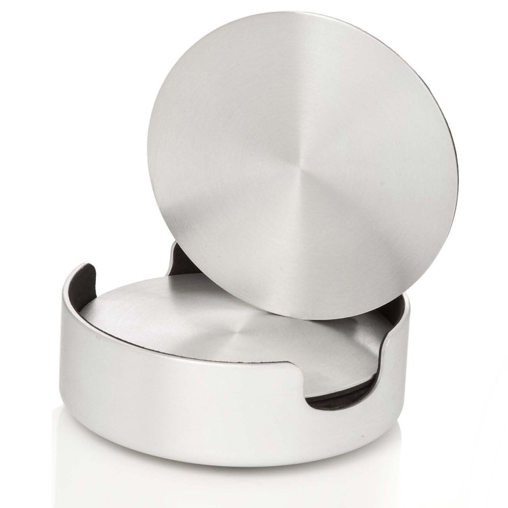 Basics Aluminum Drink Coasters