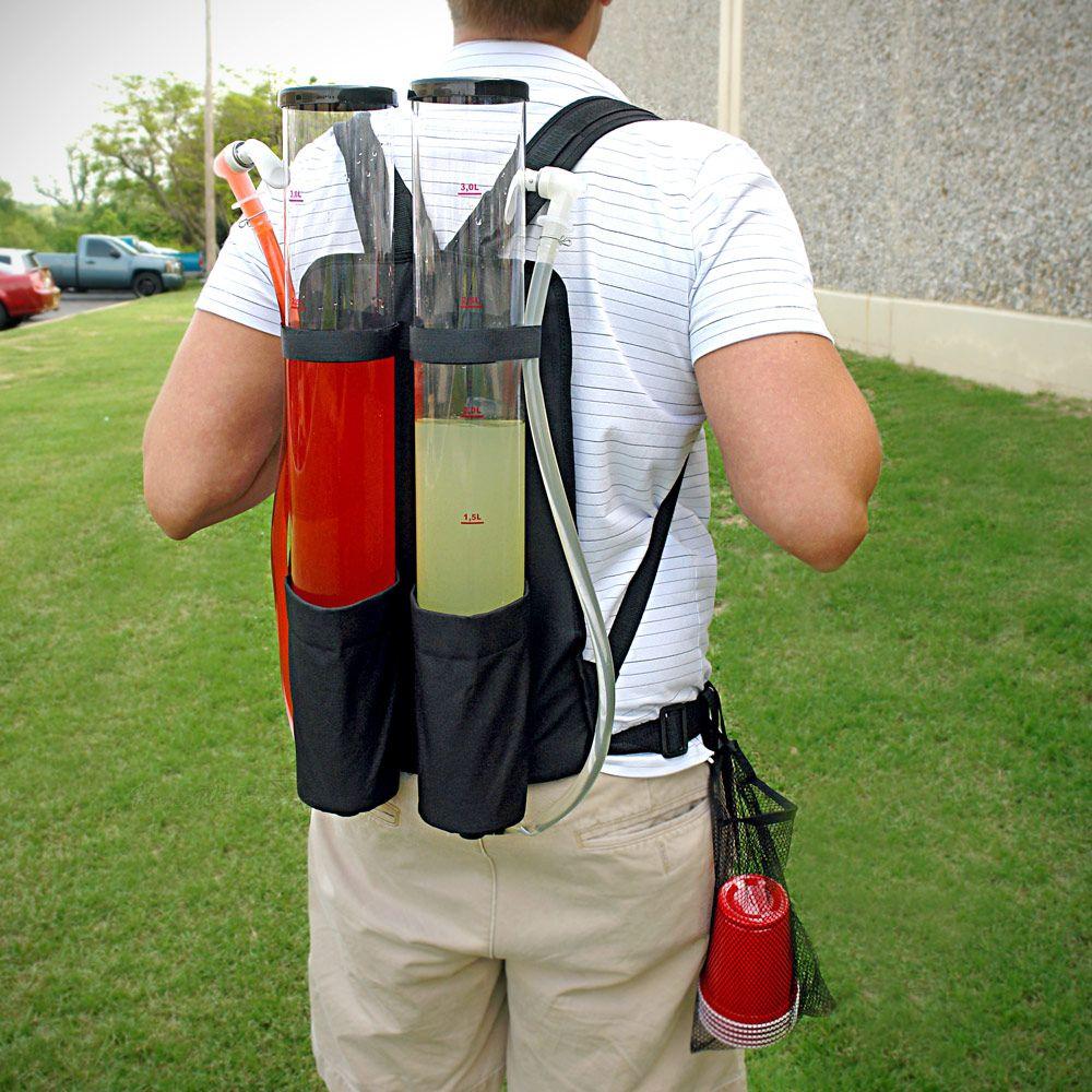 Tailgater Dual Tank Backpack Drink Dispenser 210oz on