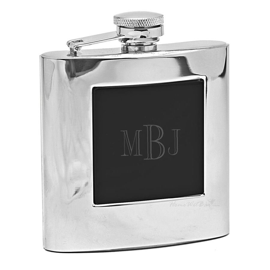 Bakersfield Hip Flask (Engravable)