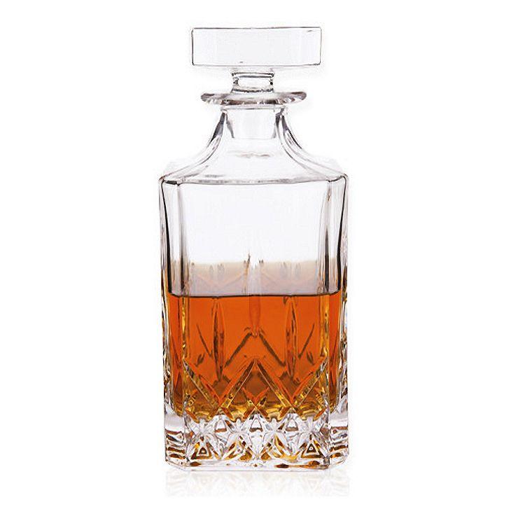 St. Lorenz Cut Glass Liquor Decanter