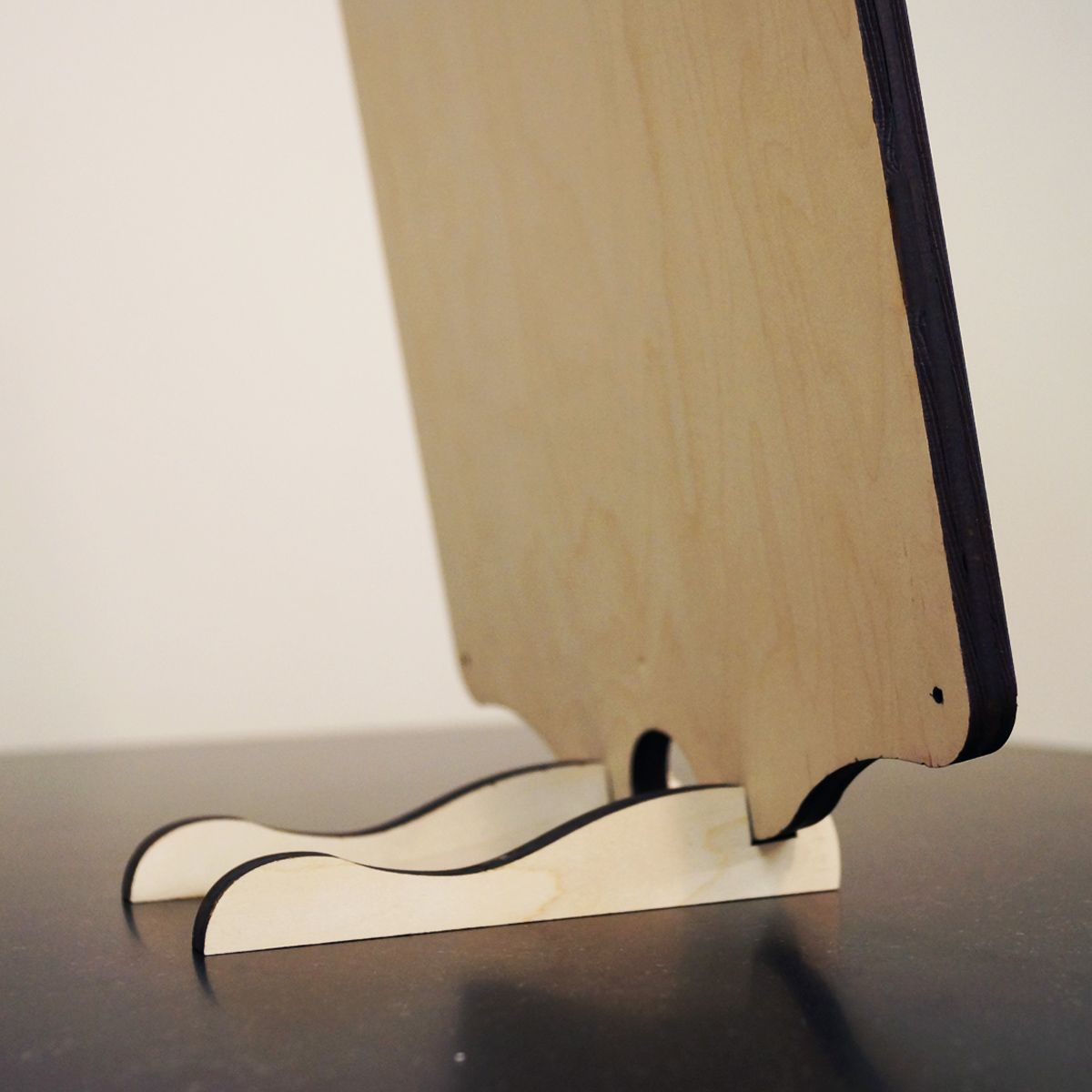 Tabletop Sign Stand - Vertical