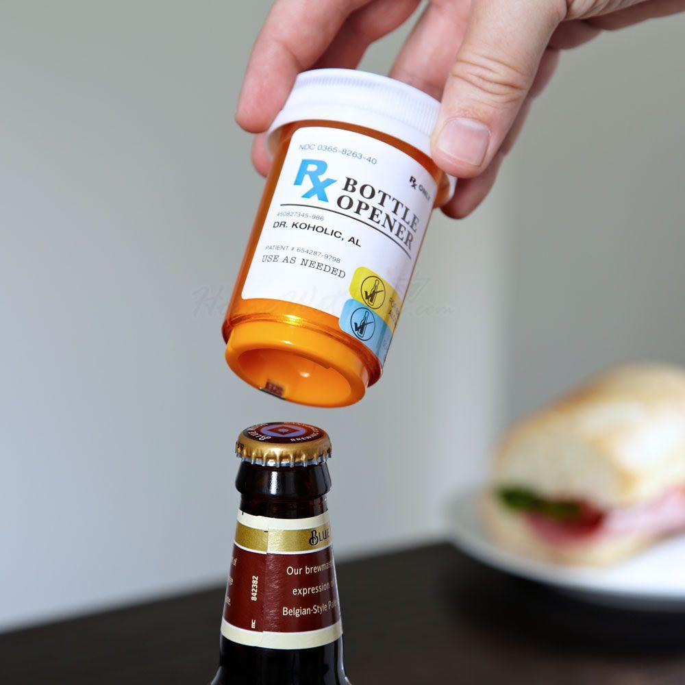 Doctors Orders Prescription Beer Bottle Opener