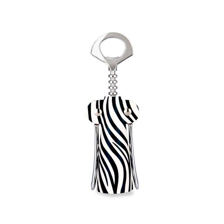 Zebra Couture Corkscrew