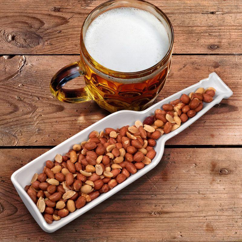 Beer Bites Longneck Shaped Snack Bowl
