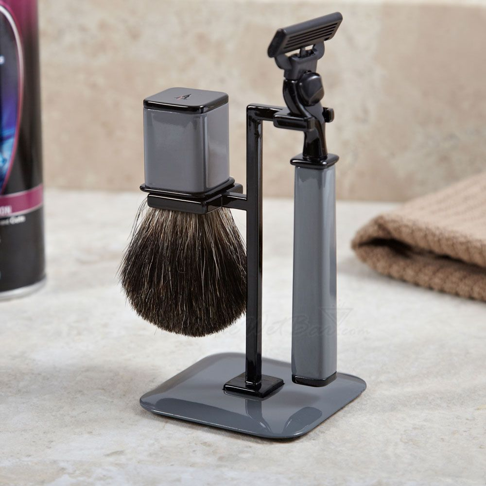 Refined Gent Shaving Kit, Dark Grey