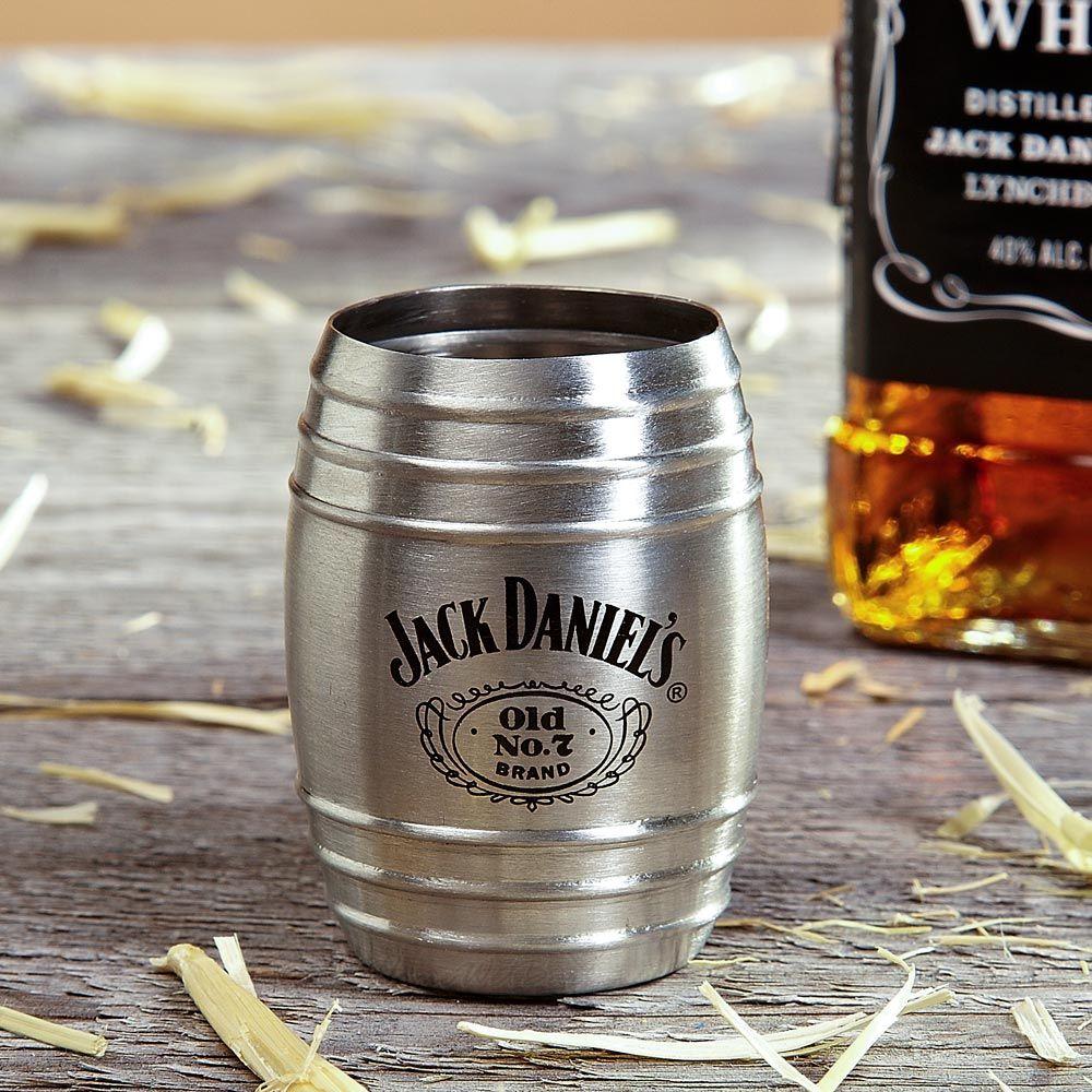 Jack Daniels Single Barrel Shot Glass (Engravable)
