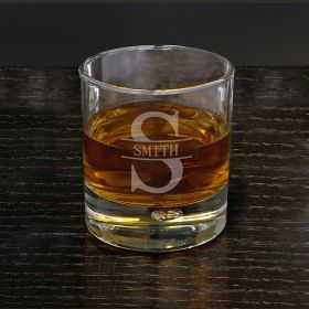 Oakmont Personalized Bryne Whisky Glass
