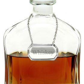 Classic Personalized Decanter Tag