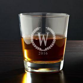 Statesman Personalized Whiskey Glass