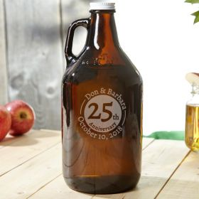 Landmark Anniversary Custom Glass Growler