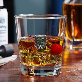 Regal Crested On the Rocks Whiskey Glass