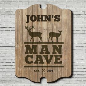 Stags Only Custom Man Cave Sign