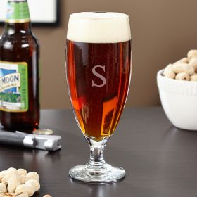 Montford Personalized Pilsner Glass