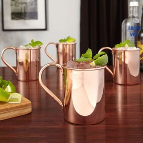 Nikolay 12 oz Copper Moscow Mule Mugs, Set of 4