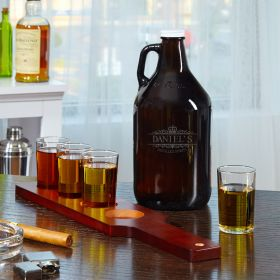 Kensington Custom Growler and Whiskey Flight Set