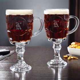 Dsseldorf Beer Goblets, Set of 2