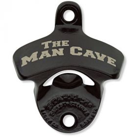 Man Cave Wall Mount Bottle Opener