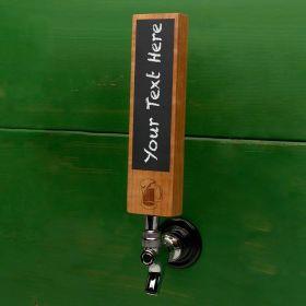 Classic Beer Mug Chalkboard Tap Handle
