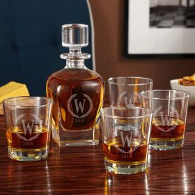 Statesman Personalized Decanter Set