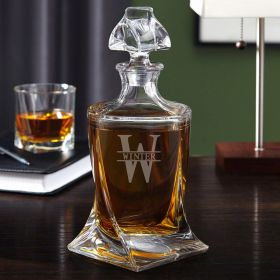Oakmont Personalized Whiskey Decanter