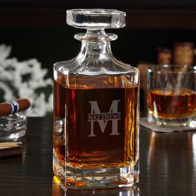 Oakmont Custom Carson Whiskey Decanter