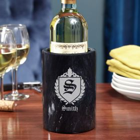Oxford Personalized Marble Wine Chiller