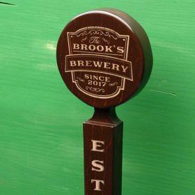 Vintage Brewery Custom Beer Tap Handle