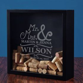 Matisse Personalized Wedding Shadow Box