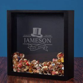 Top Notch Cigars Personalized Shadow Box