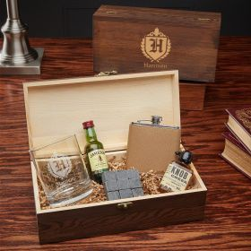 Oxford Custom Whiskey Lover Gift Set