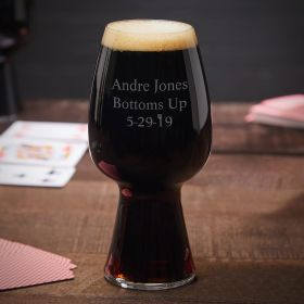 Personalized Spiegelau Stout Glasses