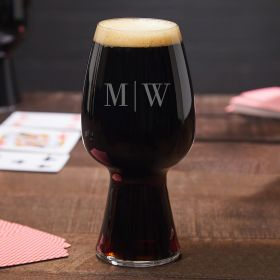 Quinton Personalized Spiegelau Stout Glass