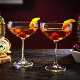 Manhattan Glasses for Cocktails
