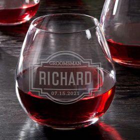 Fremont Custom Stemless Wine Glass