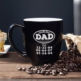 World's Best Dad Custom Coffee Mug