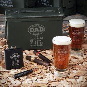 World's Best Dad Custom Ammo Box Set