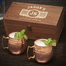 Marquee Personalized Moscow Mule Gift Set