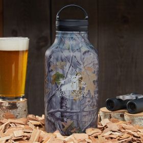 Bird & Buck Custom Camo Growler – Gift for Hunters