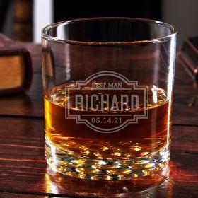 Fremont Buckman Custom Whiskey Glass