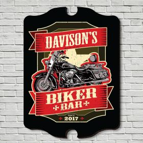 Biker Bar Custom Sign