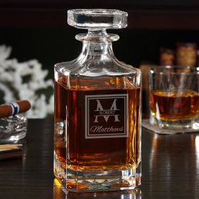 Oakhill Personalized Cognac Decanter