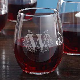 Highbury Stemless Personalized Wine Glass
